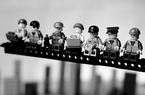 Classics in Lego - rekonštrukcia najslávnejších fotografií všetkých čias